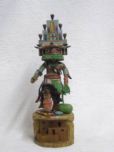 Native American Hopi Carved Hemis Katsina Doll by Milton Howard